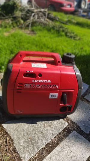 Honda eu2000i generator 2 hour of use. for Sale in Beaverton, OR