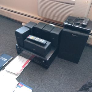 Denon Home Theater 6.1 System + Sony DVD Player for Sale in Elgin, IL