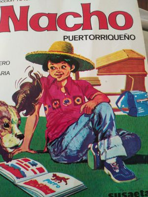 Nachoo lee Puertorriqueño book for Sale in San Antonio, TX