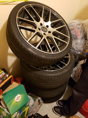 345/35zr20 95y xl tire versante alloys rims for Sale in McLean, VA