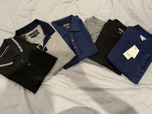 Polo shirt diferente brand DK, Michael Kors, Calvin Klein, Banana Republic and other for Sale in Miami, FL