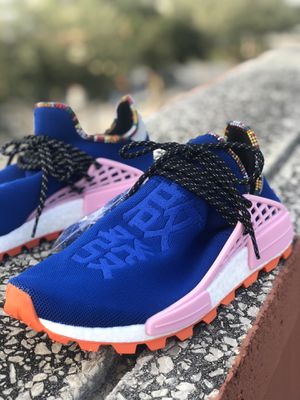 Adidas Pharrell NMD HU inspiration powder blue🔥size: 10.5 for Sale in Miami, FL