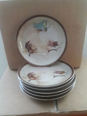 Six Western Plates for Sale in Tampa, FL