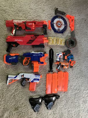 Nerf Guns, Sold individually or $150 entire lot for Sale in Portland, OR