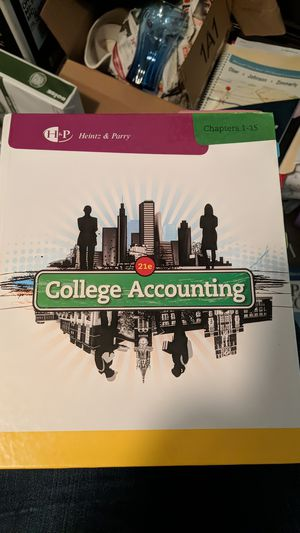 College Accounting Book for Sale in Vancouver, WA