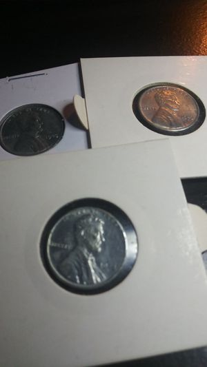 Complete Set of 1943 Steel Pennies P, D, & S Mint for Sale in Wenatchee, WA