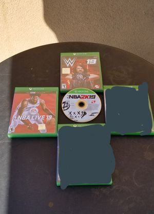 XBOX ONE SPORT GAMES, $15 EACH, FIRM PRICE for Sale in Garden Grove, CA