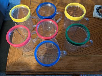5 Magic bullet cups/mugs w/lip rings for Sale in Sherwood,  OR