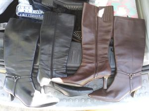 Women's boots size 5 1/2 for Sale in Tampa, FL