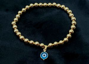 14k Gold filled Evil Eye beaded bracelet for Sale in Brooklyn, NY