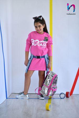 Brown Girls Long Sleeve Dress Buckle, Simple Joys Toddler Girls, Egyptian Cotton for Sale in Glendora, CA