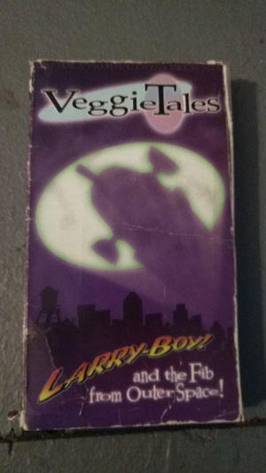 4 Veggietales vhs tapes for Sale in Missoula, MT