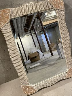 Wicker Mirror Free To Good Home for Sale in Framingham,  MA