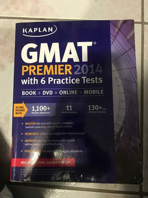 Kaplan GMAT Premier 2014 for Sale in Queens, NY