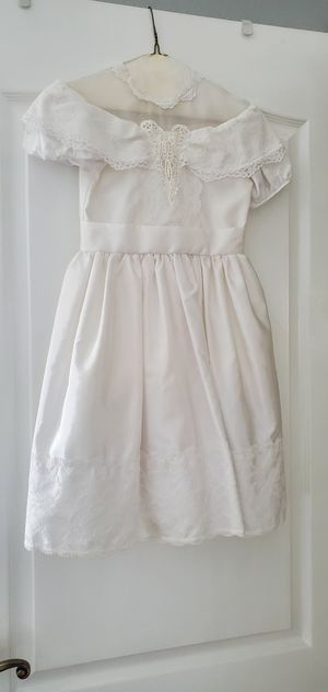 Little girl white dress for Sale in Chuluota, FL
