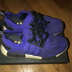 Adidas NMD Purple, Men 9.5 for Sale in Pekin,  IL