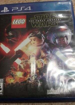 Ps4 game Lego Starwars the force awakens great condition firm price$15pick up only for Sale in Anaheim, CA