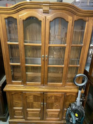 Dixie China cabinet display closet for Sale in Baden, PA