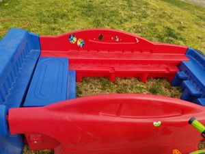 Mattel toddler to twin bed frame for Sale in Moreno Valley, CA