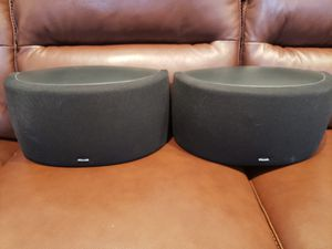 Klipsch Rear Surround Sound Speakers/ Pair for 200.00 for Sale in Brooklyn, NY