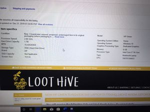 """Hp omen 15.6"""" 1050 graphics card for Sale in Panama City, FL"""