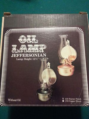 Vintage oil lamp for Sale in Manassas, VA