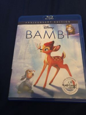 Bambi Blu-ray movie for Sale in San Diego, CA