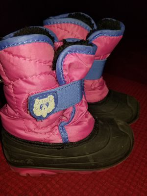 Kamik toddler girl boots for Sale in Boston, MA