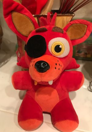 "7"" five nights at Freddy's stuffed animal$4 for Sale in Menifee, CA"