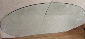 32x48 beveled glass table top for Sale in Las Vegas, NV