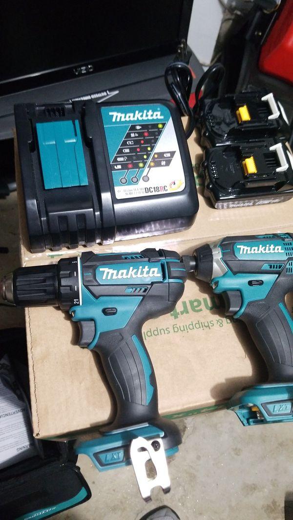 Makita combo drill set