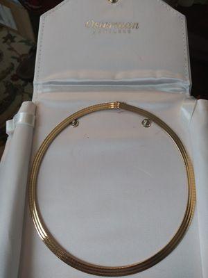 Omega 2-in-one necklace/bracelet 14kt gold for Sale in Saginaw, MI