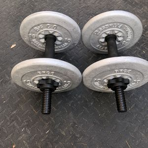 Brand new adjustable dumbbells, With Weight Plates...$60FIRM for Sale in Glendale, AZ