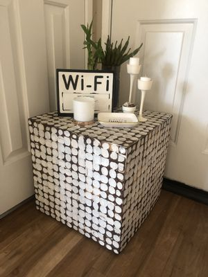 Solid Cube Side Table or Coffee Table for Sale in Irvine, CA