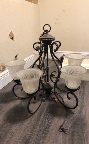 Chandelier brushed bronze for Sale in Farmers Branch, TX