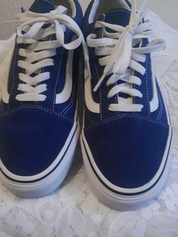 Vans Off The Wall Blue Suede Sneakers for Sale in Houston,  TX