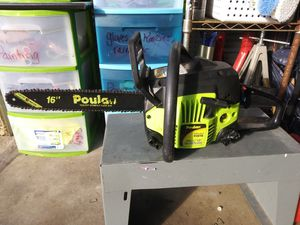 """16"""" Poulan chainsaw for Sale in North Richland Hills, TX"""