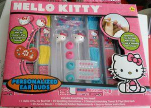 Hello Kitty ear pods for Sale in Santa Ana, CA