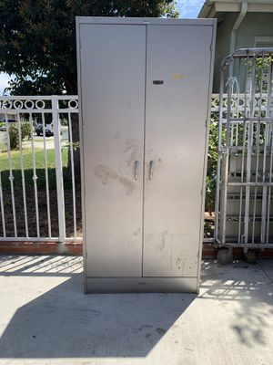 Extra tall metal storage cabinet for Sale in Anaheim, CA