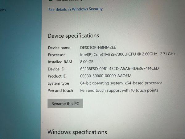 Microsoft Surface Pro 4, Windows 10, Intel Core i5, 256GB, 8GB Ram