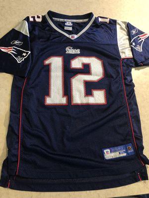 Reebok New England Patriots jersey YXL (18-20) for Sale in Richardson, TX