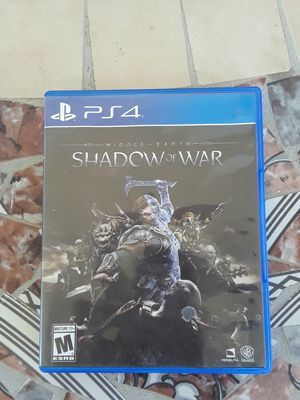 Shadow of war ps4 adult owned for Sale in Tucson, AZ