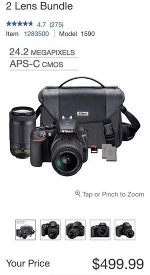Nikon Camera bundle for Sale in Moreno Valley, CA