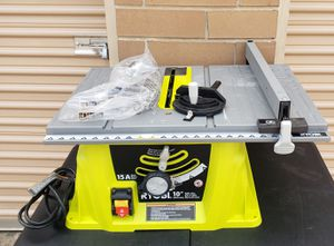 """Ryobi 10"""" Table Saw No Stand for Sale in Irving, TX"""