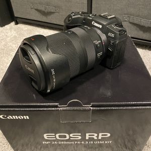 Canon EOS RP w/ RF And Other Lenses for Sale in Tacoma, WA