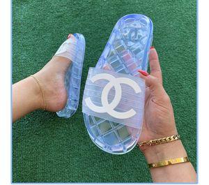 Chanel Jelly Slide Sandals for Sale in San Juan Capistrano, CA