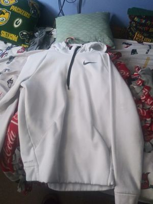 White black nike hoodie for Sale in Columbus, OH