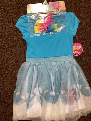 Trolls dress tutu for Sale in Spring Valley, CA
