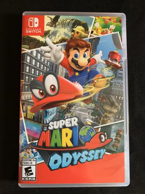 Mario odyssey Nintendo switch for Sale in Lakewood, CA