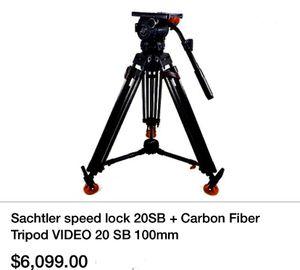 Sachtler speed lock Pro Tripod for Sale in Anchorage, AK